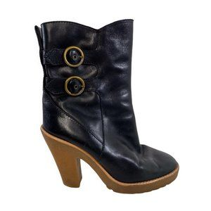 Marc by Marc Jacobs Platform Heel Boots w/ Buckles